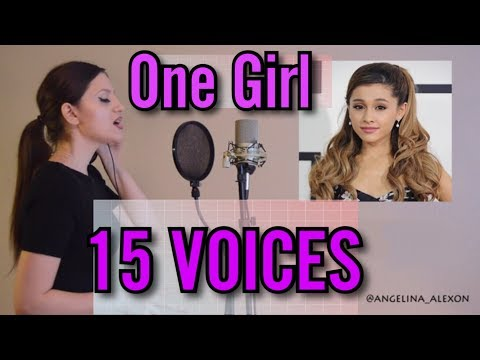One Girl 15 Voices  (Ariana Grande, Mariah Carey, Celine Dion and more)