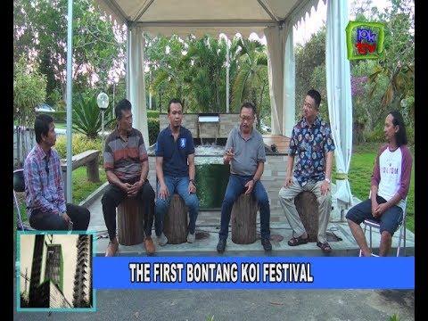 THE FIRST BONTANG KOI FESTIVAL PUPUK KALTIM
