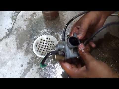 TVS Scooty Pep Plus carburetor  DIY