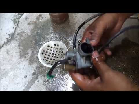 TVS Scooty Pep Plus carburetor  DIY