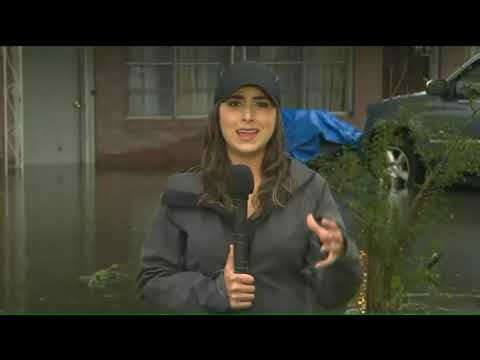 People in southeastern Texas are urgently warned to stay indoors as Imelda causes widespread floodin