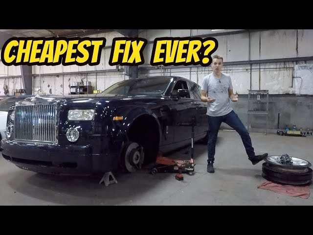 A $25 Part Fixed My Broken Rolls-Royce Phantom