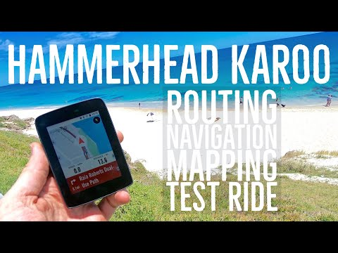Hammerhead Karoo: Navigation Test Ride