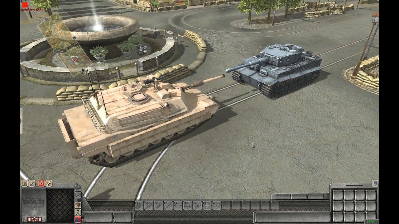 abrams tank vs tiger -#main