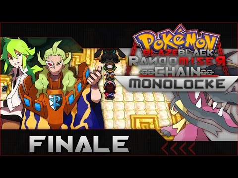 "Pokemon Blaze Black Random Chain-Monolocke |#Finale| ""The End"""