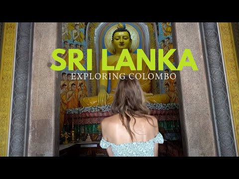 FIRST TIME IN SRI LANKA!  – Exploring COLOMBO the Capital City