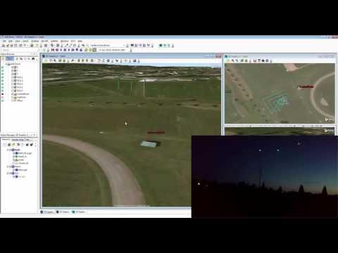 Drone Formation Flying - 3 Drones - DIY Drones