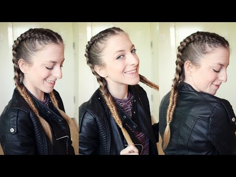 Braided Combo Pigtail Hairstyle Braidsandstyles12 Youtube
