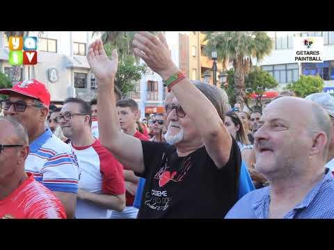 Continúa la fiesta algecirista en la Plaza Alta para celebrar el ascenso