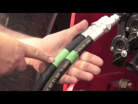 tractor hydraulic hook up