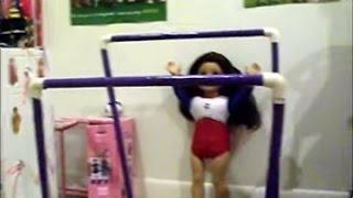 Wie Machen Sie Ihre Eigene AG Gymnastik Unebene Bars & Strahl!