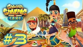 Subway Surfers 2017: Cairo - Samsung Galaxy S8+ Gameplay #3