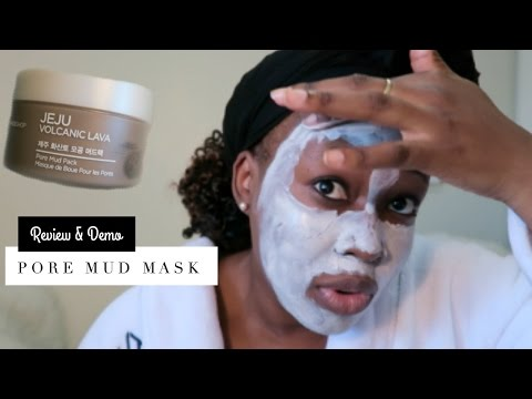THE FACESHOP JEJU VOLCANIC LAVA PORE MUD PACK (Review & Demo) | I Tried It! Ep. 1