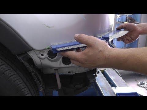 Toyota RAV 4. Рихтовка заднего крыла. ДЕНЬ ВТОРОЙ.