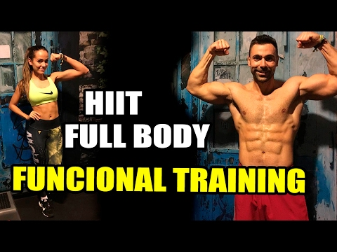 RUTINA HIIT FULL BODY || FUNCTIONAL TRAINING COMPLET 25'