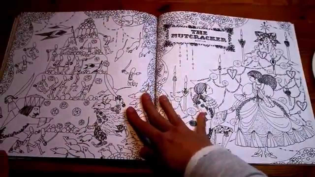 Fairy Tale Colouring Book Youtube