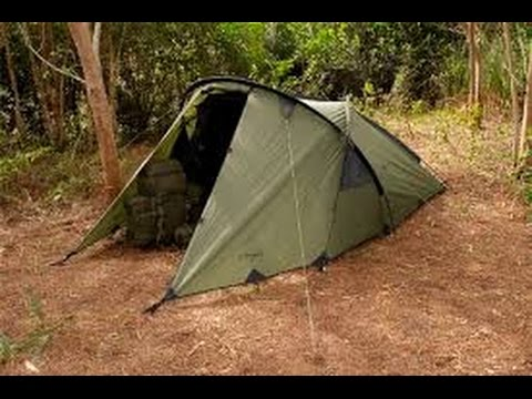 The Scorpion 2 Tent from SnugPak & The Scorpion 2 Tent from SnugPak - YouTube
