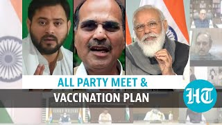 Covid vaccine: Congress, RJD raise concerns after PM Modi holds all-party meet