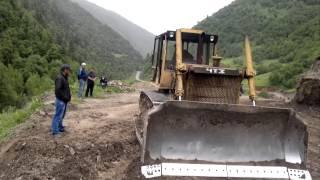 Ремонт автодороги Цебари-Шапих -Межиріччя . Цунта (частина 1)