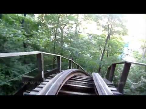 Top ten wooden roller coasters in the WORLD (with front seat povs)