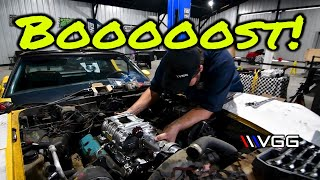 FORGOTTEN Corvette Gets Supercharged - PART 1 (preparing for burnout competition!)