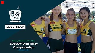 🔴 2018 SUBWAY State Relay Championships - Afternoon Session  // LAVicTV
