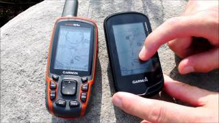 Touch screen or bottons on an Outdoor GPS