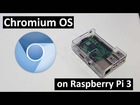 How to Install Chromium OS on Raspberry Pi 3 - YouTube