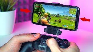Como Jugar FORTNITE MOVIL con Mando de PS4! Nuevo Fornite Mobile (ios/android)
