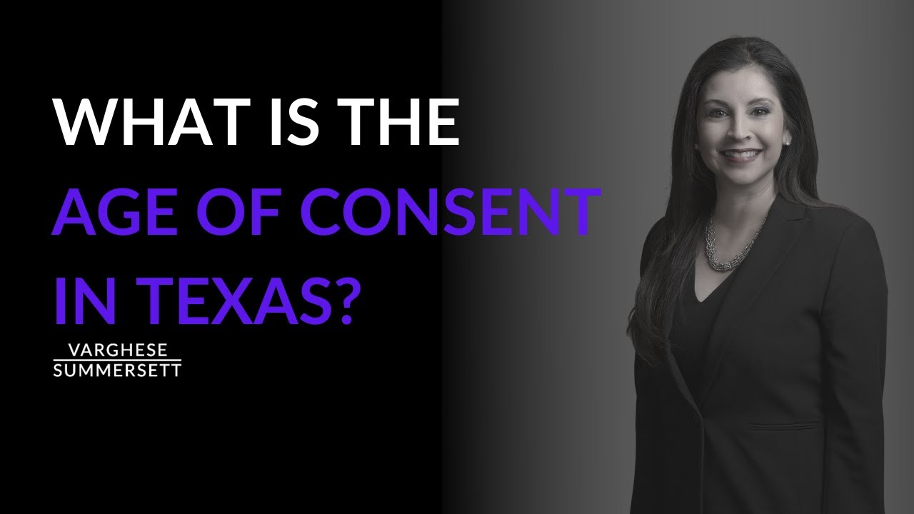 Age of Consent in Texas