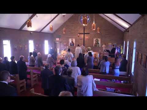 Holy Apostles Indianapolis, Metropolitan Nicholas Visit, 2015