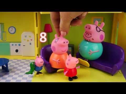 Свинка Пеппа ЗАБОЛЕЛА Набор доктора Развивающие видео на канале Игра Шоу ТВ The Peppa Pig  got sick
