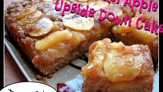 Trying Laura's Caramel Apple Upside Down Cake [day 54]