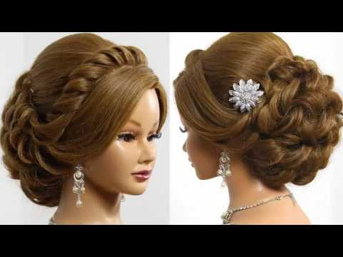 Indian Bridal Hairstyles Screenshot