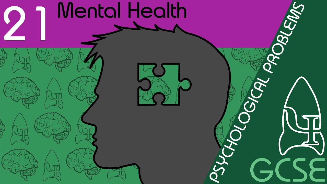Mental health - Psychological Problems, GCSE Psychology [AQA]
