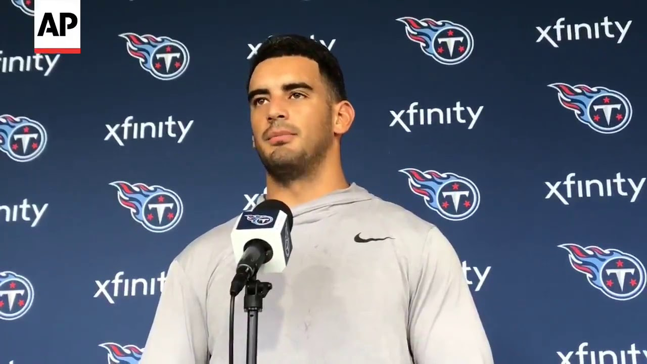 197a9f06 Marcus Mariota's approach to final year of contract: 'Let it ride.'