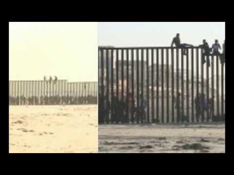 First Wave Of Migrant Caravan Arrives In San Diego As Troops Erect Barricades & Razor Fence