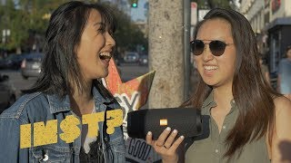 Iann Dior - Emotions: STREET REACTIONS in Hollywood