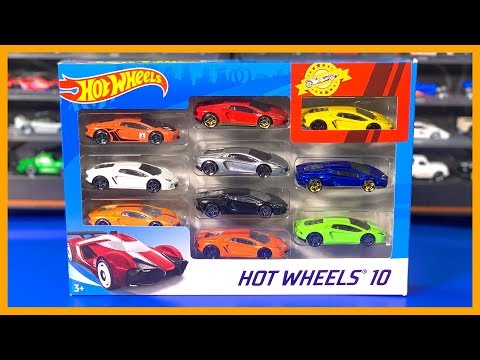 Hot Wheels Lamborghini Aventador 10 Pack *Custom*