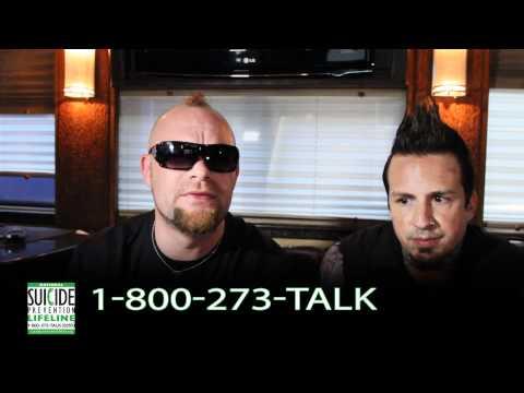 Five Finger Death Punch - National Suicide Prevention Lifeline PSA