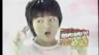 河合美智子さんCM ハウスさかなかな新発売編.