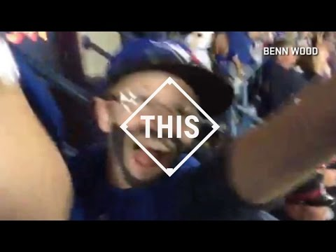 Mini-Bautista watches counterpart's home run #THIS