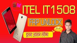 itel it1508 frp unlock