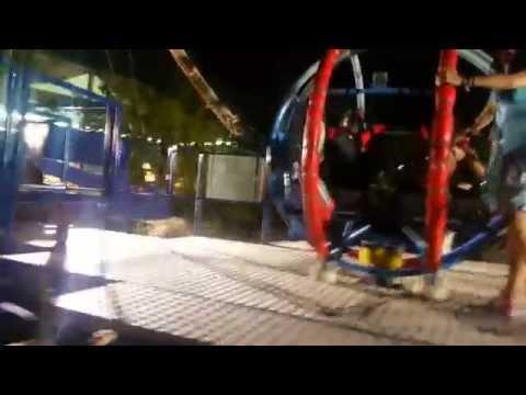 Allou fun park-Loop it train
