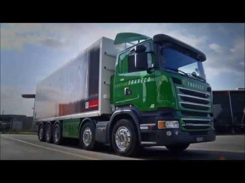 Futtermittel Chauffeur Bei Der Traveco Transporte AG