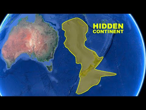 The Earth Has a Secret Hidden Continent