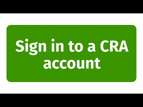 How To Sign In To My CRA Account? Canada