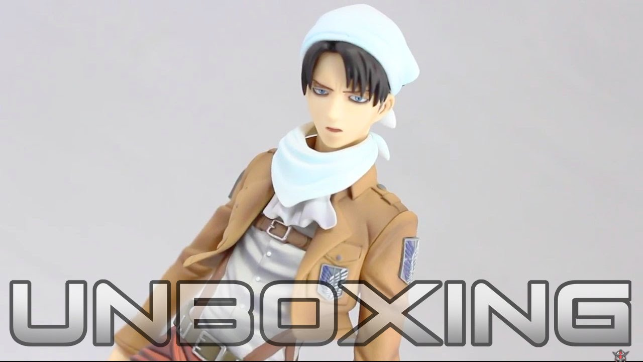 リヴァイ(お掃除版) Brave Act | 1/8 Cleaning Levi - ATTACK ON TITAN - Figure Unboxing