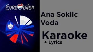 Ana Soklic - Voda (Karaoke) Slovenia Eurovision 2020