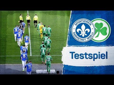 Darmstadt 98   Testspiel gegen Greuther Fürth